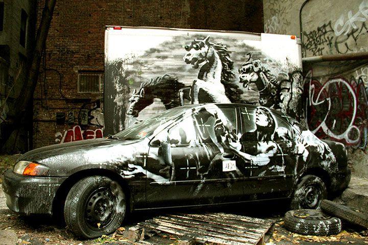 バンクシー「Better Out Than In」現地レポ! アンチ&警察との攻防などで盛り上がるNYCを追った art131025_banksy_ny_4667