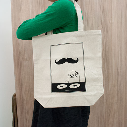 【口髭好き歓喜】ヴィレヴァンオンラインで<HIGE FES 2014>開催!!! fashion140808_higefes_bag-sub-yoko