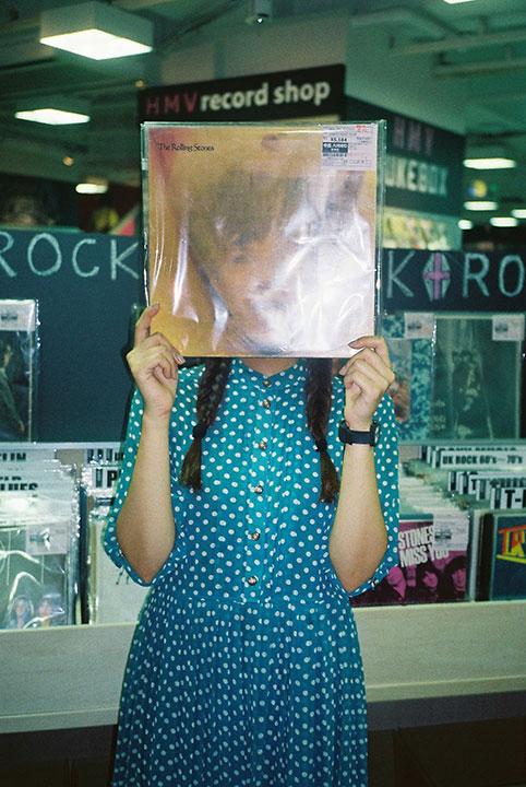 コウキシン女子の初体験 Vol.05 Akane Ishida:HMV record shop 渋谷 music140813_hmv_10