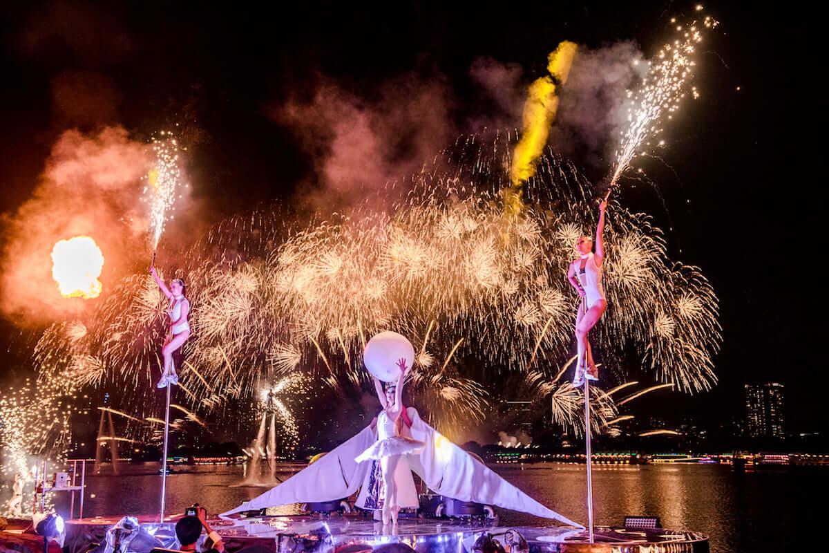 未来型花火エンタテインメント「STAR ISLAND」がシンガポールカウントダウンイベントに導入決定!! music1801106_star_island_02-1200x800