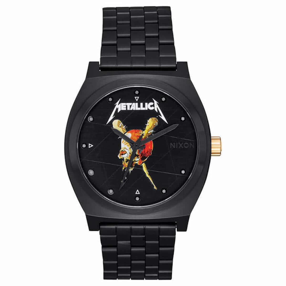 METALLICA X NIXON メタリカの名盤が腕時計に! music181112_nixon-metallica_5-1200x1200