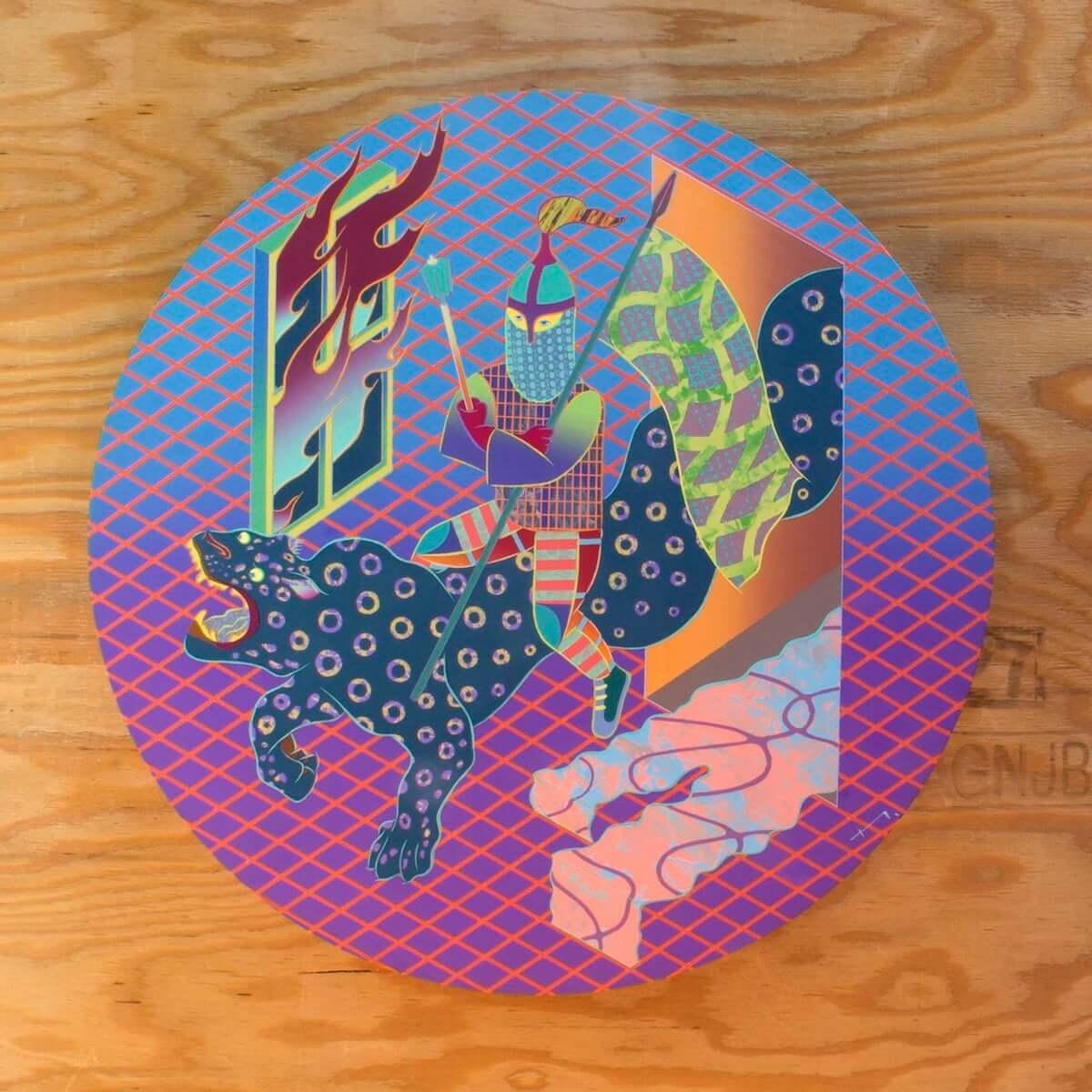 一林保久道が新作個展「melee close in」を半蔵門ANAGRAで開催 art-culture181115-anagra-hokuto-ichibayashi-melee-close-in-5-1200x1200