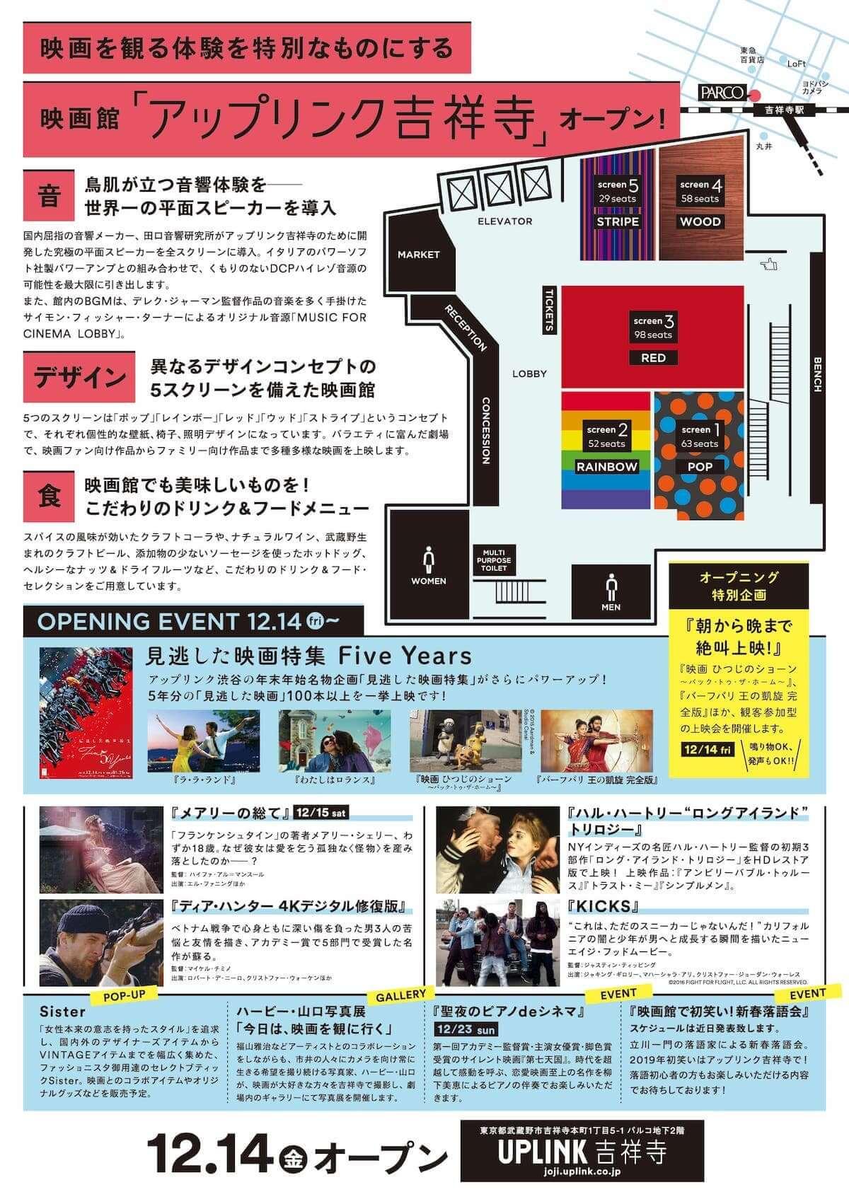 12月オープンの映画館「アップリンク吉祥寺」オープニング企画続々決定! film181118-joji-uplink-2-1200x1695