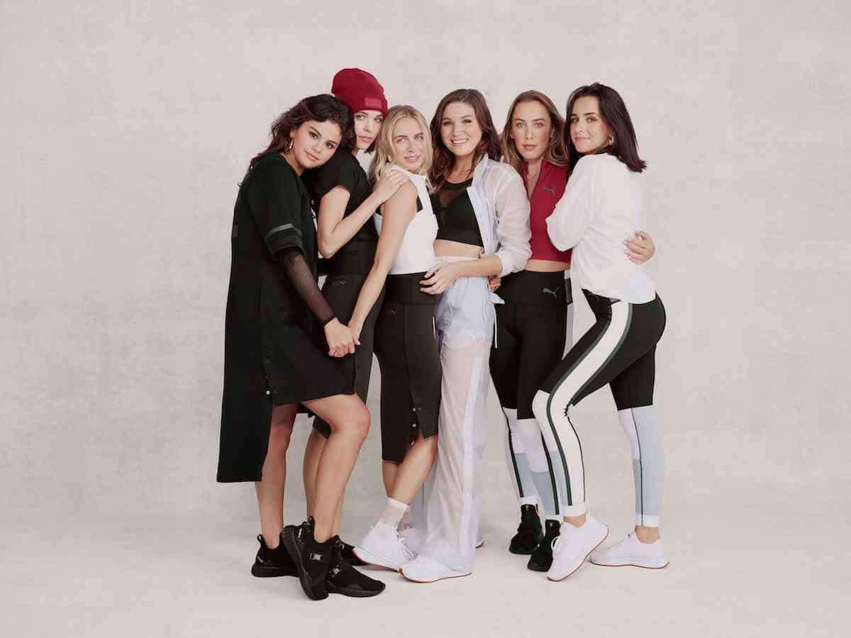 プーマ×セレーナ・ゴメス 80・90年代LAのバイブス感じられるSG Runnerなどが登場! fashion181130_puma_6-1200x900