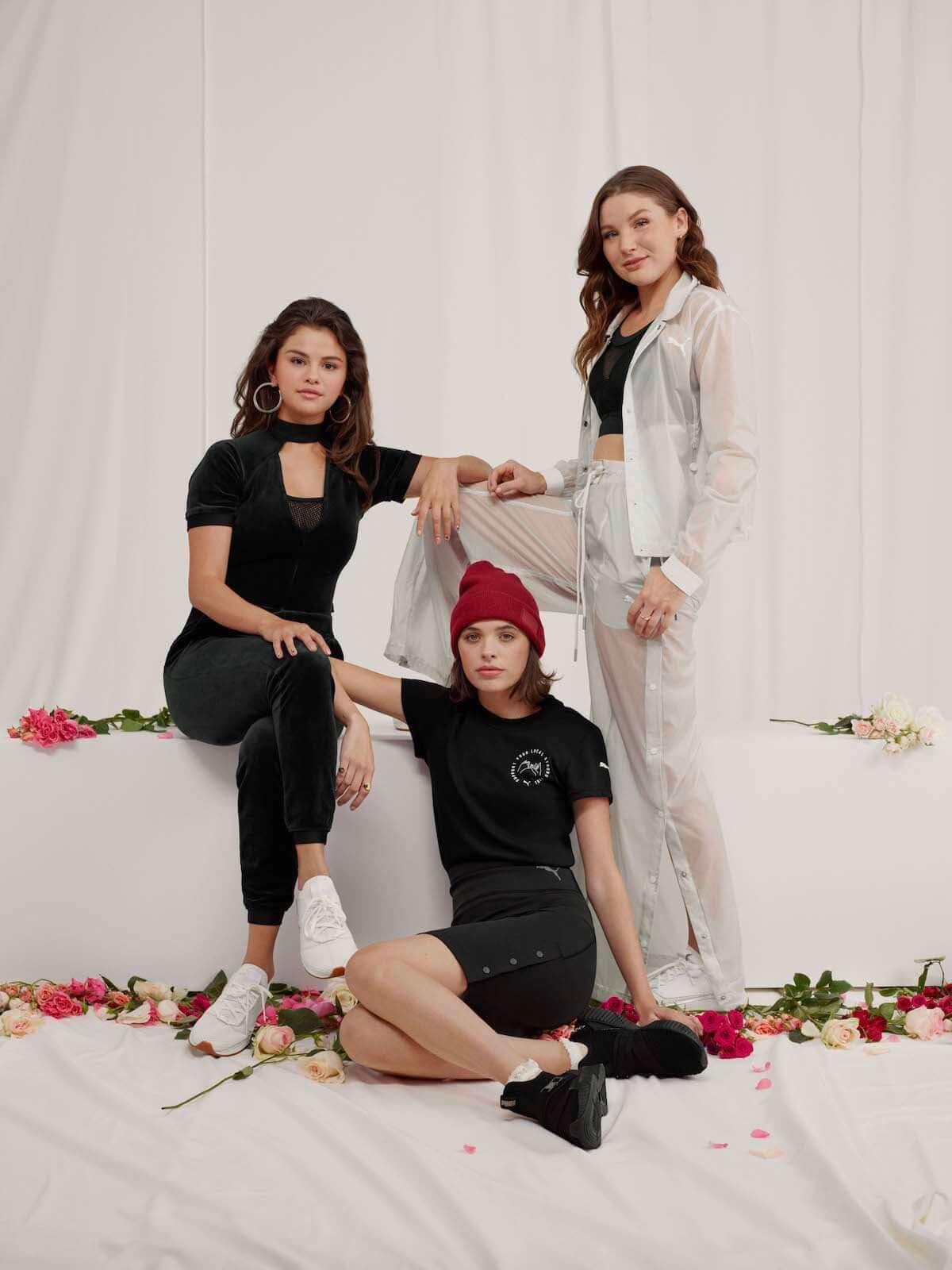 プーマ×セレーナ・ゴメス 80・90年代LAのバイブス感じられるSG Runnerなどが登場! fashion181130_puma_9-1200x1600