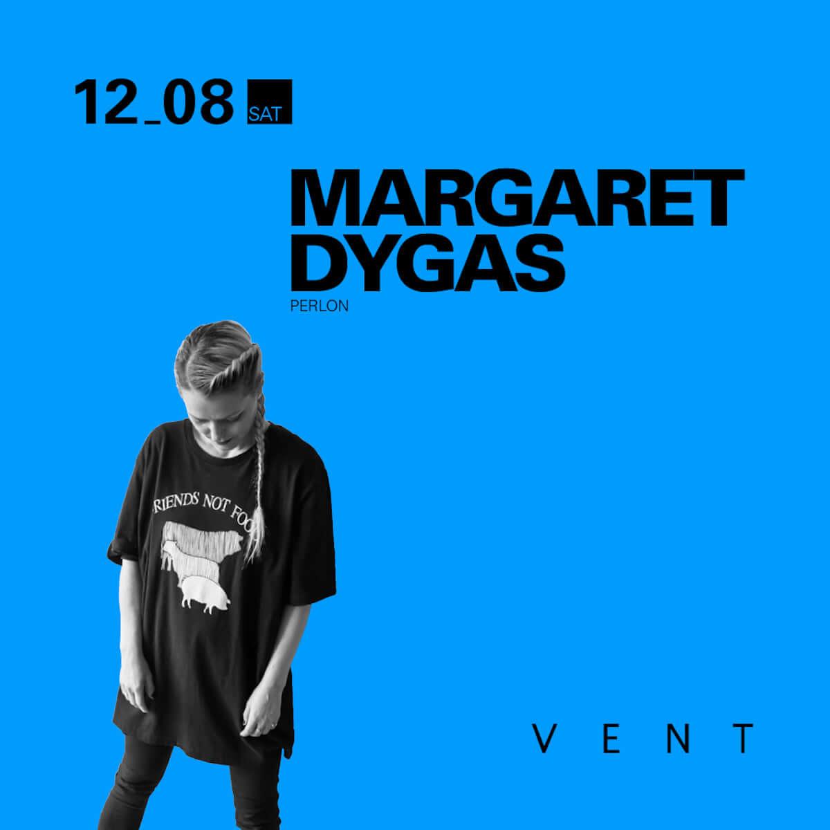 ZIPやRicardo Villalobosでもおなじみの人気レーベル「Perlon」の看板アーティスト・Margaret DygasがVENTに登場 music181206-vent-margaret-dygas-2-1200x1200