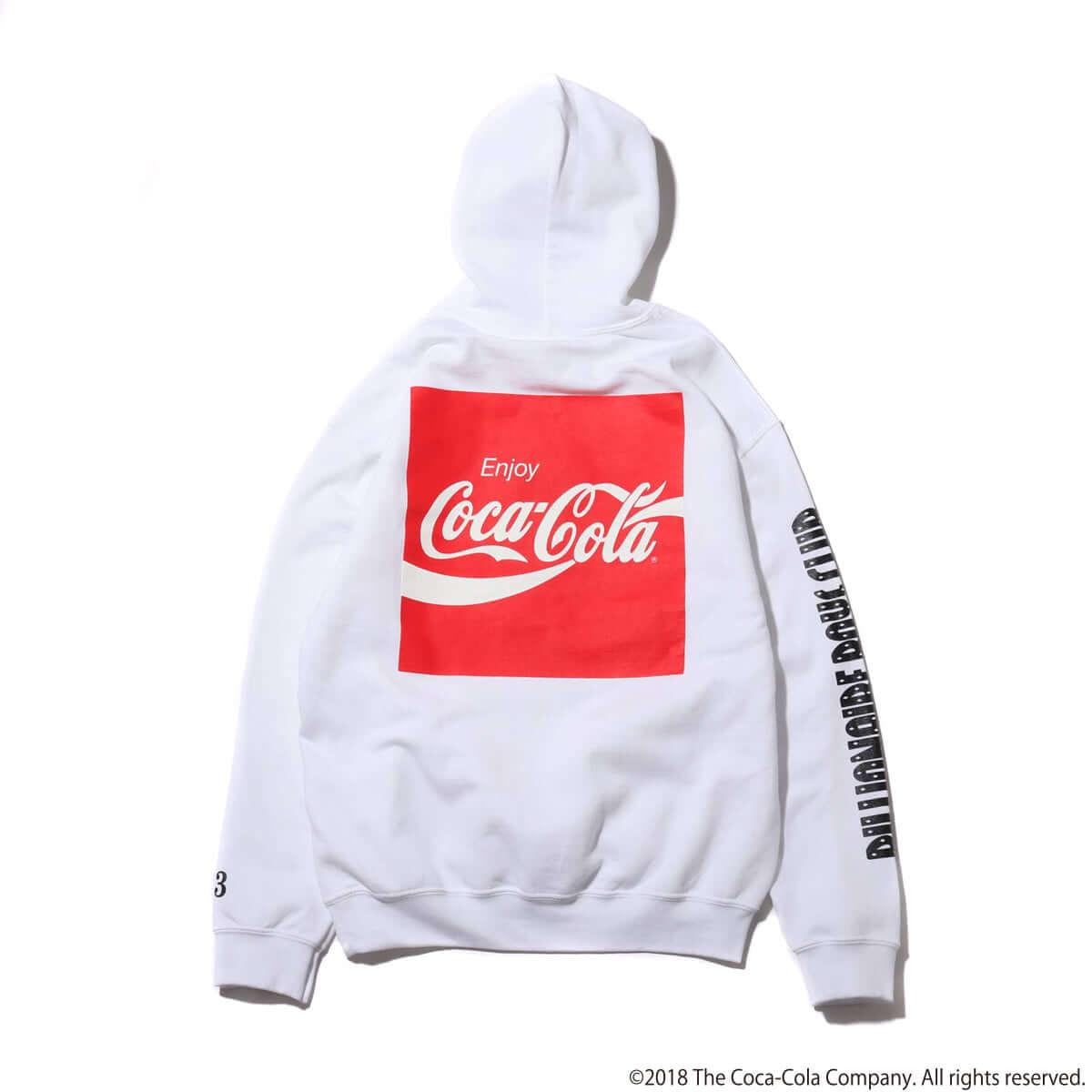 Coca-Cola×Billionaire Boys Club×ATMOS LAB トリプルコラボレーションアイテムが発売 whitehood-4c-1200x1200