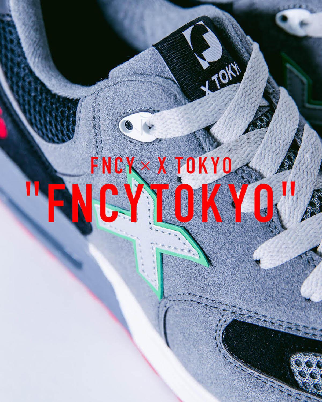 FNCYのPOP UP SHOPが今週末開催!X TOKYOとのコラボスニーカー、石黒景太氏デザインのフーディなどを販売 FT3
