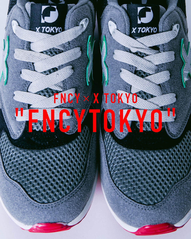 FNCYのPOP UP SHOPが今週末開催!X TOKYOとのコラボスニーカー、石黒景太氏デザインのフーディなどを販売 FT4
