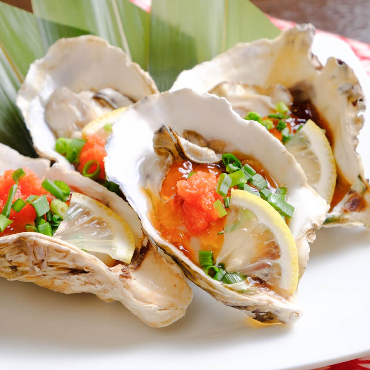 牡蠣好きのための「牡蠣尽くしコース」で牡蠣鍋!牡蠣の湯引き!お刺身!カキフライ! gourmet181214-oyster-2