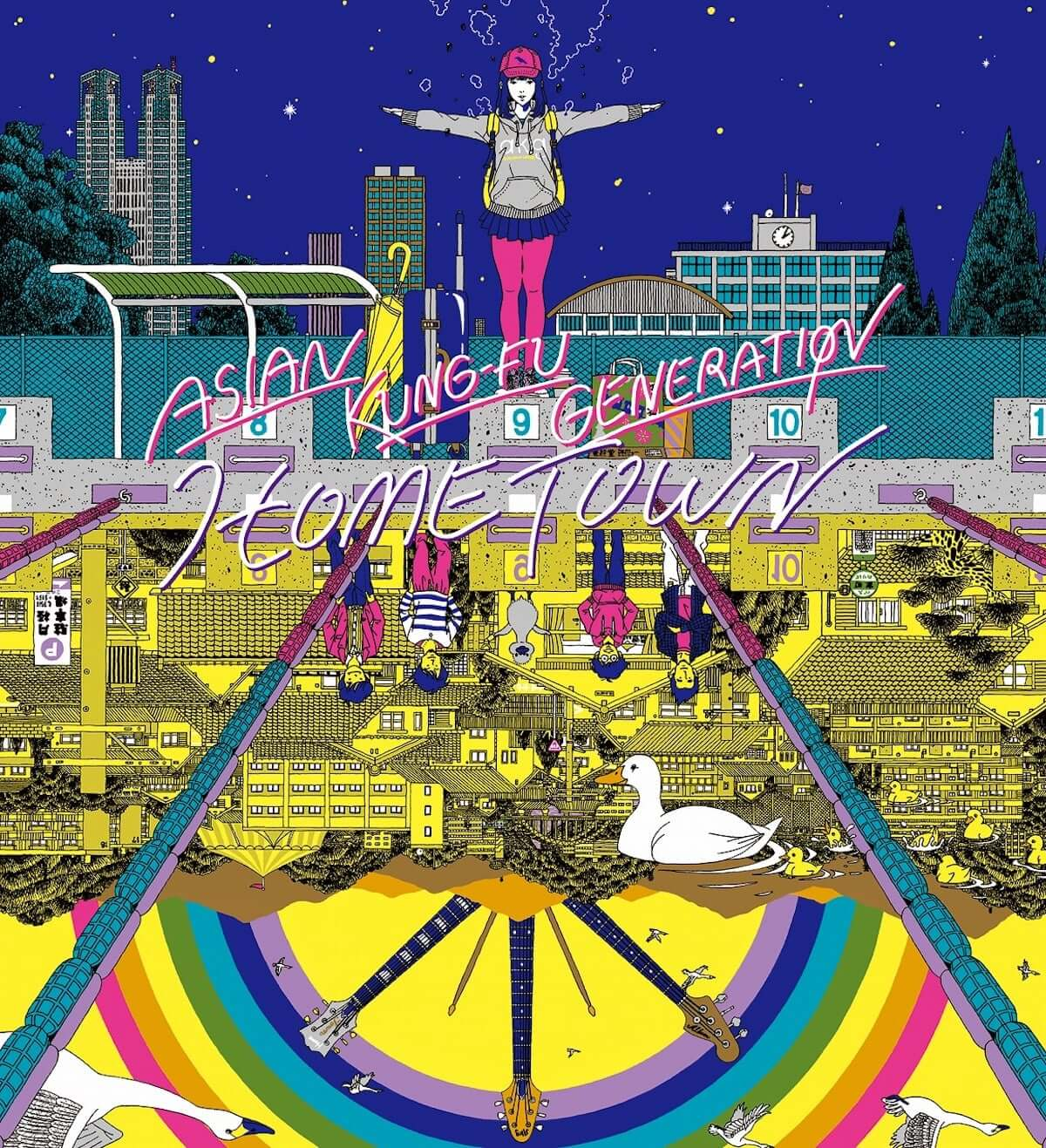 ASIAN KUNG-FU GENERATION、新曲MVを2本同時公開 music181227_AKG02-1200x1317