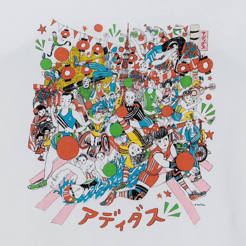 【本日発売】adidas×クリエイター|新アパレルコレクショ「TOKYO GRFX シリーズ」登場 fashion190111_adidas_02