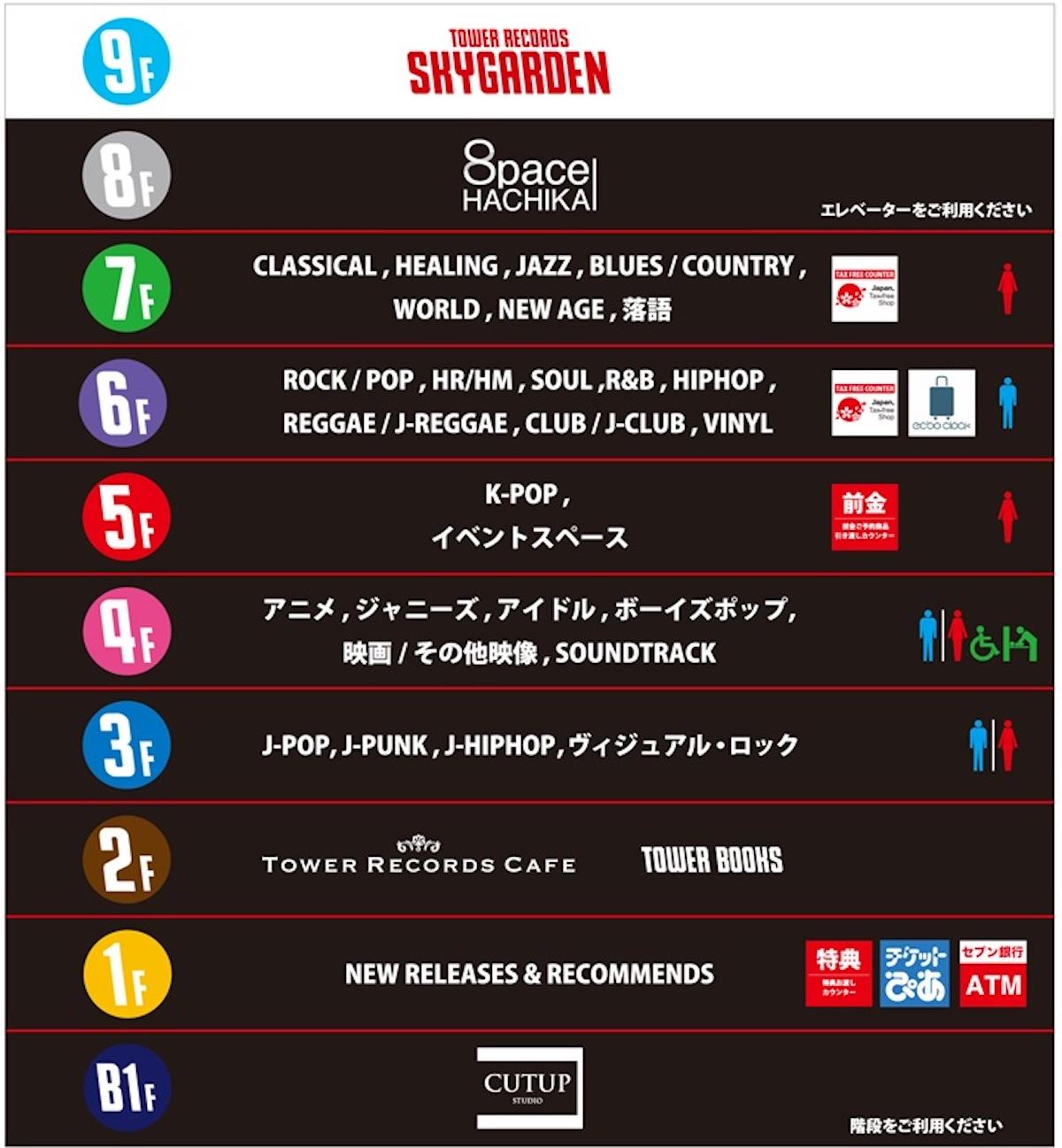 タワーレコード渋谷店がリニューアルで「世界NO.1のK-POPストア」へ music190111-towershibuya-2