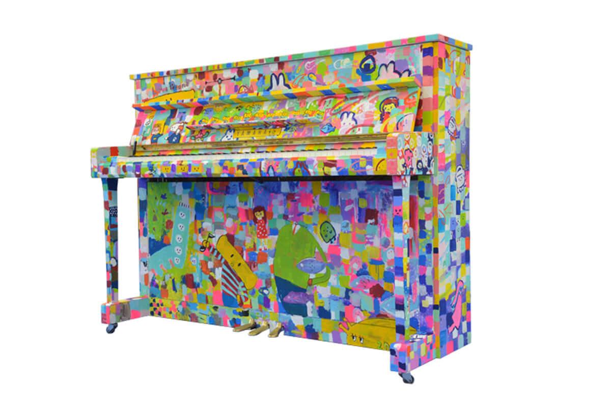 ラジオ番組『Tokyo Brilliantrips』連動!JR品川駅に登場した誰でも自由に弾けるピアノ「LovePiano」などをご紹介! lovepiano-1200x800