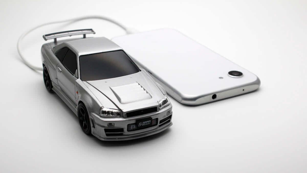 車好きにはたまらない日産のモバイルバッテリーが登場 technology190116-camshop-1-1200x678