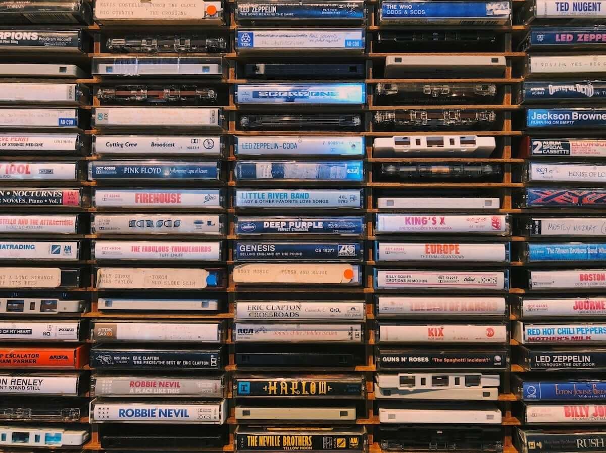 2018年、アメリカでカセットテープの売り上げが23%増。一番人気は映画『ガーディアンズ・オブ・ギャラクシー』のサントラ music190118cassette-tapes-1200x897