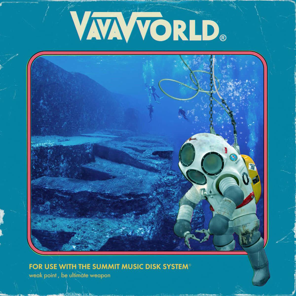 VaVa、2ndソロアルバム「VVORLD」が2月にリリース|リリパにはtofubeatsやOMSB、KID FRESINO、okadada、shakke-n-wardaaらが登場 music190219-vava-1200x1200