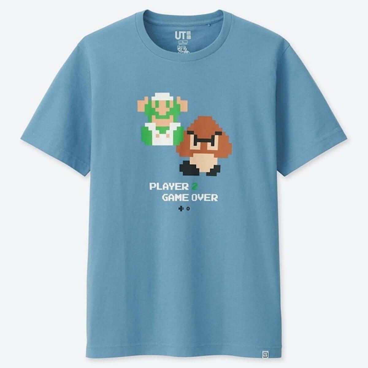懐かしのあのドット絵がTシャツに!『スーパーマリオ』のUTコレクションが発売 190131_ut_4-min-1200x1200