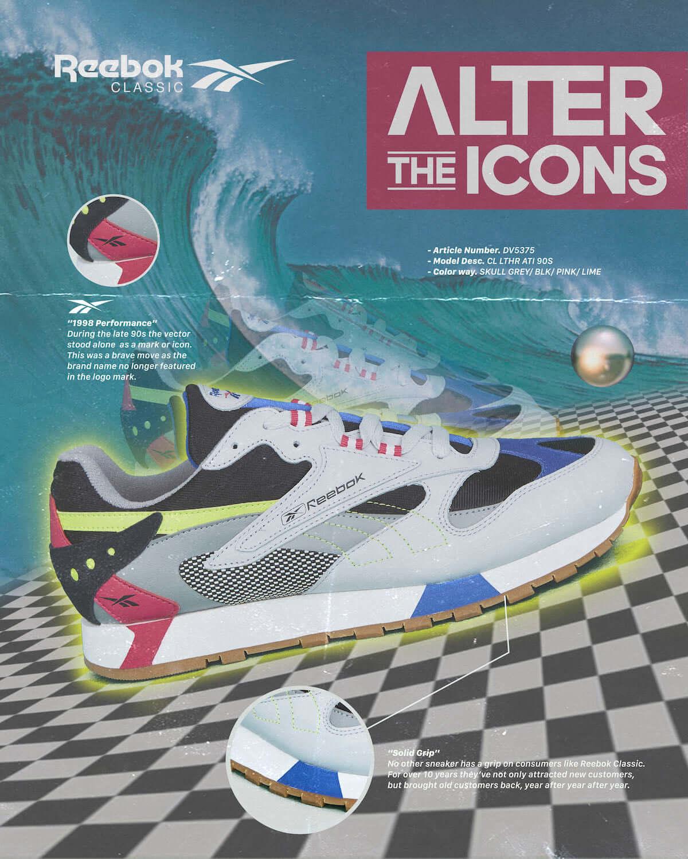 Reebok CLASSIC、80年代モデル×トレンドの90年代をミックスした新シリーズ「ALTER THE ICONS」が発売! Li190201_reebok1-1200x1500