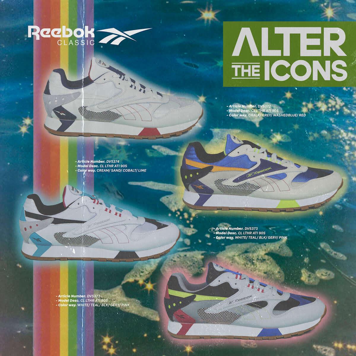 Reebok CLASSIC、80年代モデル×トレンドの90年代をミックスした新シリーズ「ALTER THE ICONS」が発売! Li190201_reebok4-1200x1200