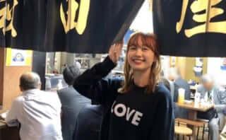 モデル・高田秋 「笑コラはしご酒」での酒飲み姿に視聴者悶絶!