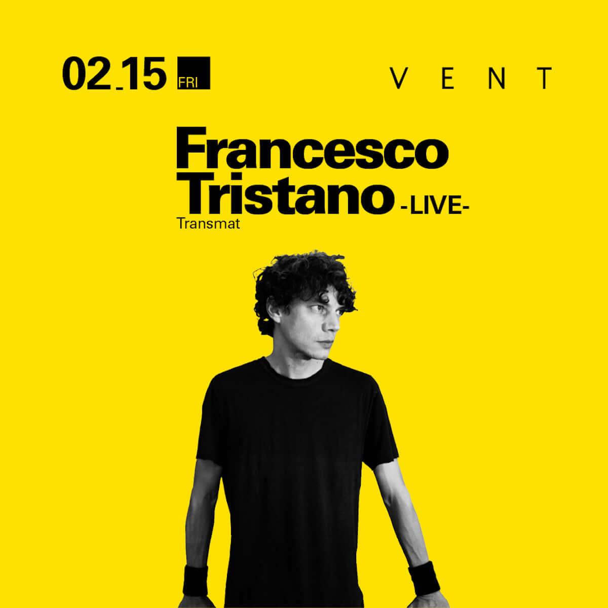 ピアニスト兼テクノ・アーティストのフランチェスコ・トリスターノがVENTでライブセットを披露 20190214_vent_main-1200x1200