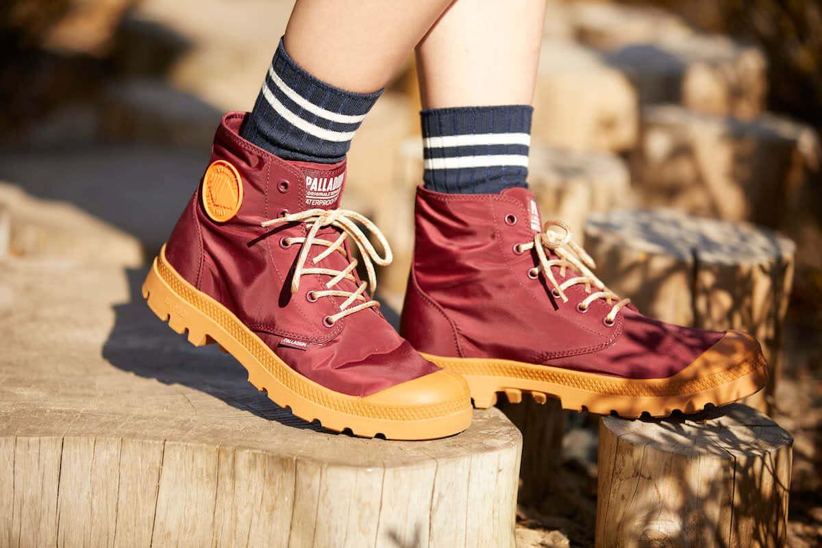 都市にもフェスにも使える防水ブーツがリニューアル! PALLADIUM「パドルプラス」が発売へ life-fashion190220-palladium-5-1200x800
