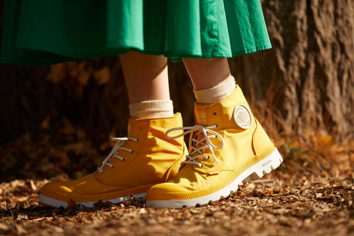 都市にもフェスにも使える防水ブーツがリニューアル! PALLADIUM「パドルプラス」が発売へ life-fashion190220-palladium-7-1200x800