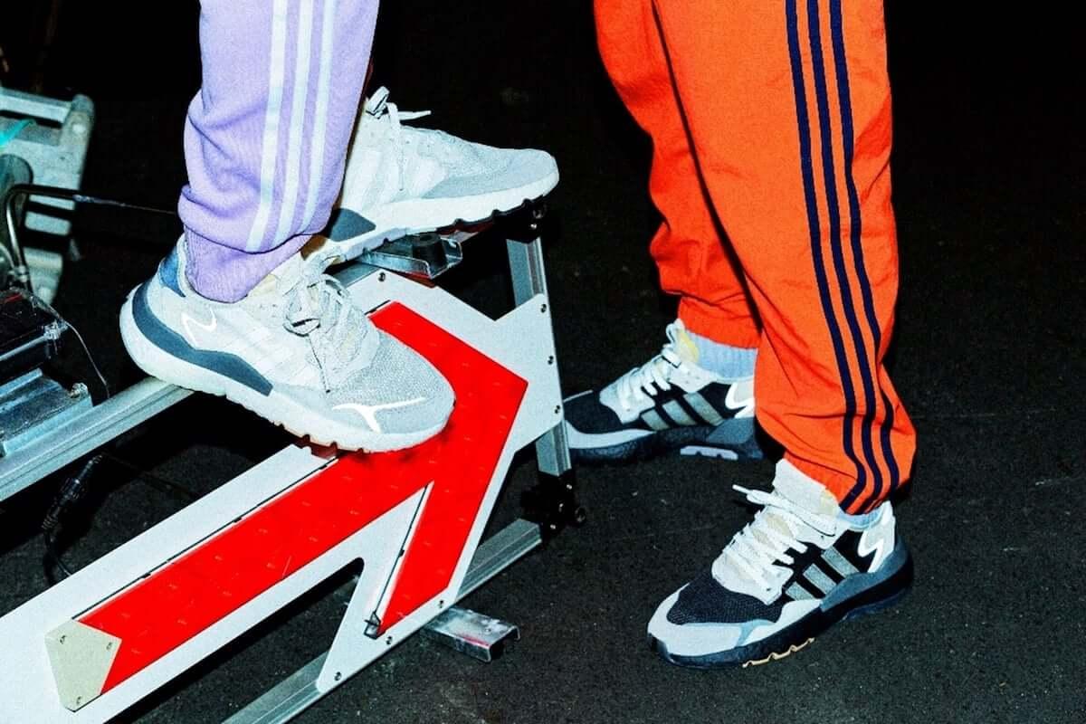 adidas Originals「NITE JOGGER BOOST」新色発売記念イベント『乱反射 –RUN HAN SHA-』がLINE LIVEで無料配信 music190304-adidas-nitejogger-13-1200x800