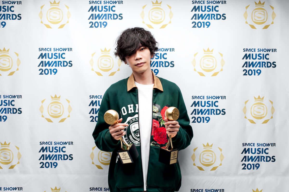 <SPACE SHOWER MUSIC AWARDS 2019>の各部門受賞者が発表|星野源が史上最多4部門獲得 music190308_spaceshowermusicawards_3-1200x800