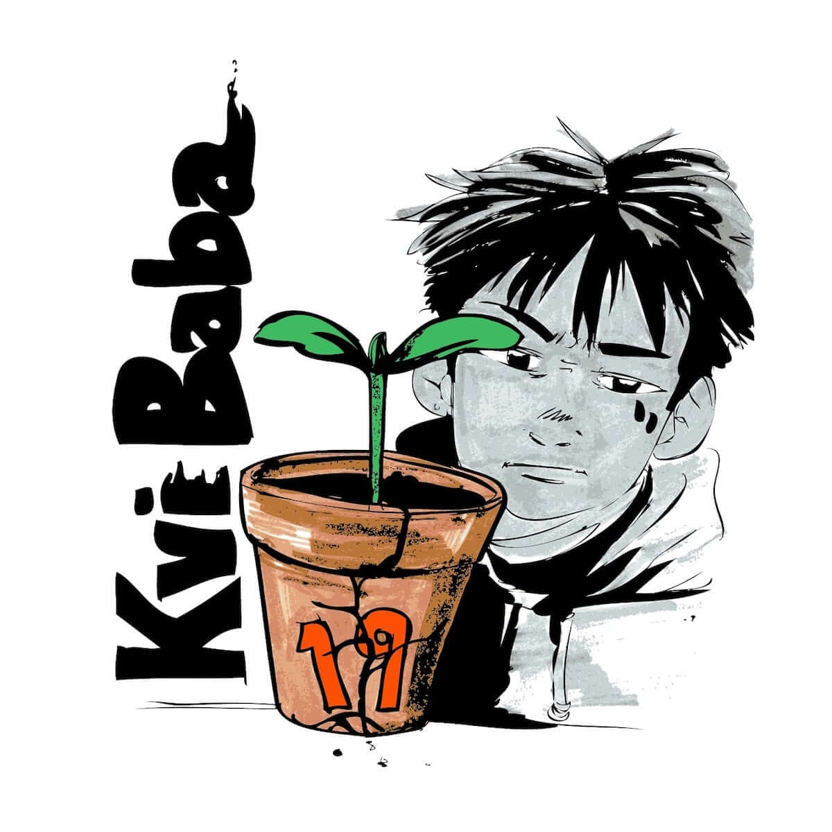 Kvi Baba、SALUを迎えた新曲2nd EP『19』収録曲「A Bright」のMVを公開 music190308-kvibaba-1-1200x1200