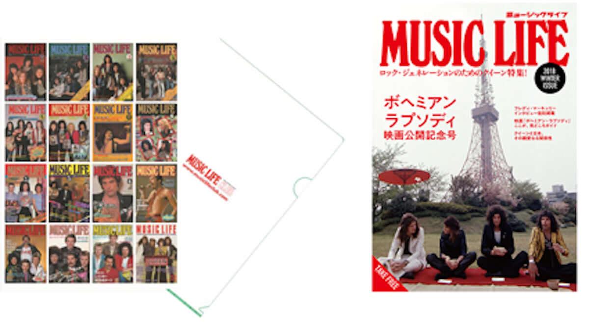 音楽雑誌『ミュージック・ライフ』でクイーン表紙号の総選挙が開催 art190302_queen_1-1200x669