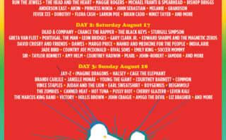 ウッドストック50周年記念フェス「Woodstock 50」の出演者が明らかに|ジェイ・Z、チャンス・ザ・ラッパー、キラーズ他