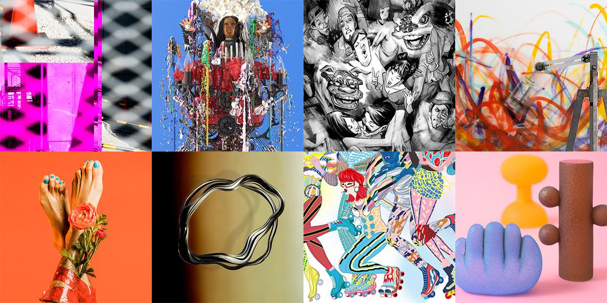 <RED BULL MUSIC FESTIVAL TOKYO 2019>、イベントビジュアルを手掛けた気鋭の作家8名のアート展を同時開催! art190403_redbullmusicfestivaltokyo_3-1200x600