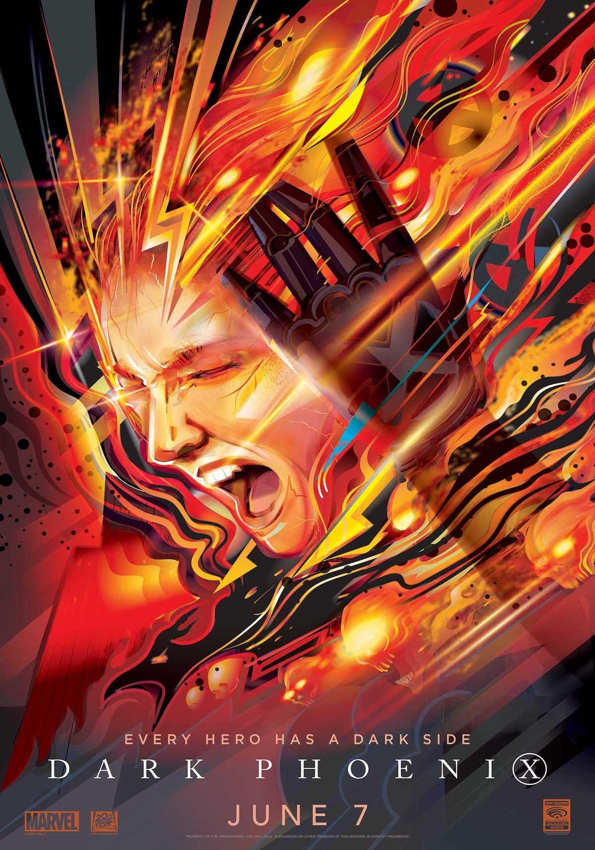 『X-MEN:ダーク・フェニックス』最新ポスター&特別映像解禁|キャスト陣がワンダーコンステージに登壇 film190405_xmendarkphoenix_main-1200x1713