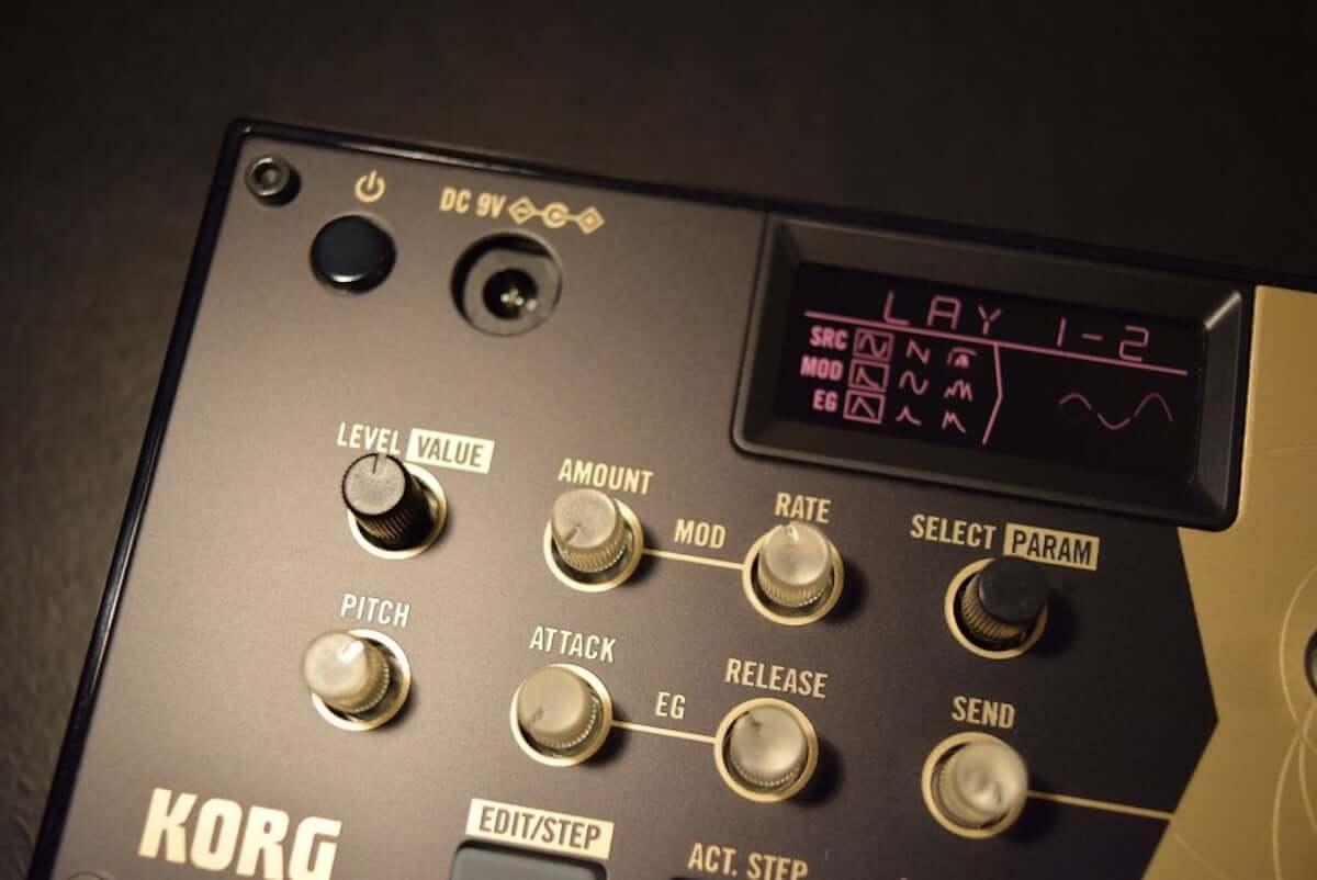 音作りや演奏の自由度が高いデジタル・パーカッション・シンセサイザーKORG『volca drum』のサウンドと魅力 technology190410-korg-volca-drum-5-1200x802
