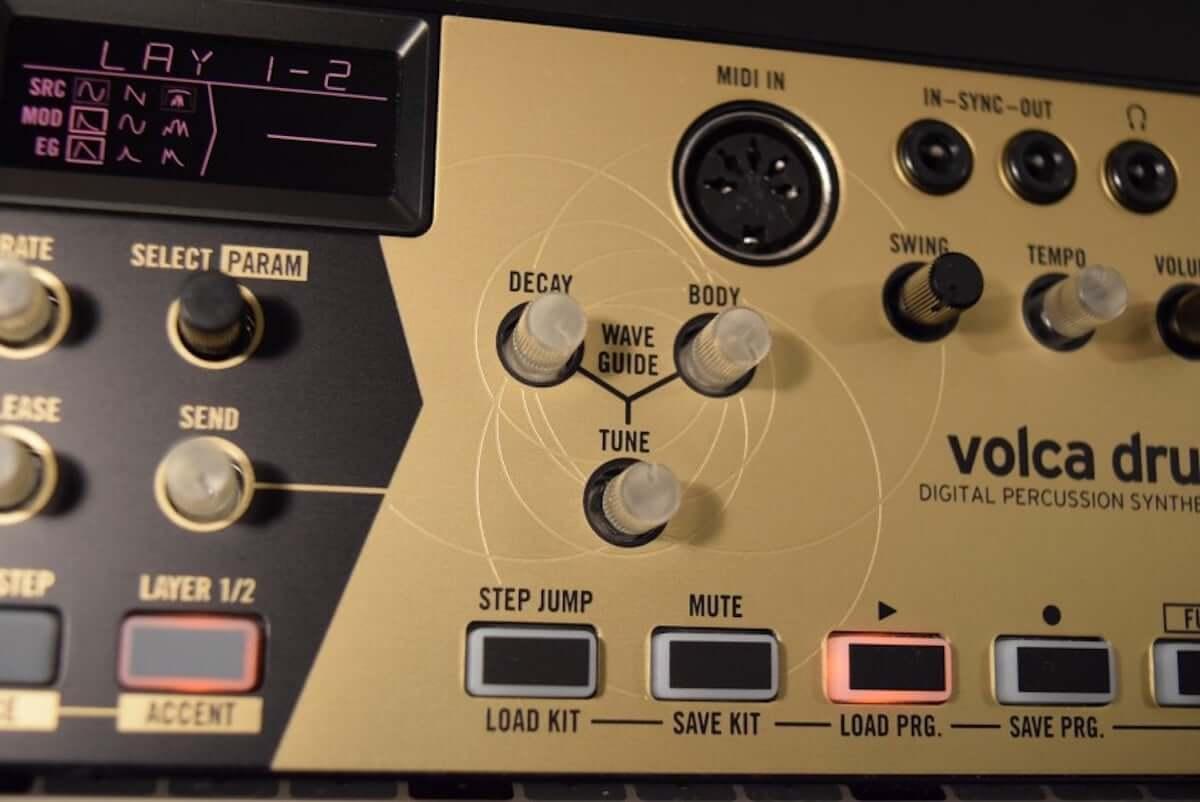 音作りや演奏の自由度が高いデジタル・パーカッション・シンセサイザーKORG『volca drum』のサウンドと魅力 technology190410-korg-volca-drum-6-1200x802