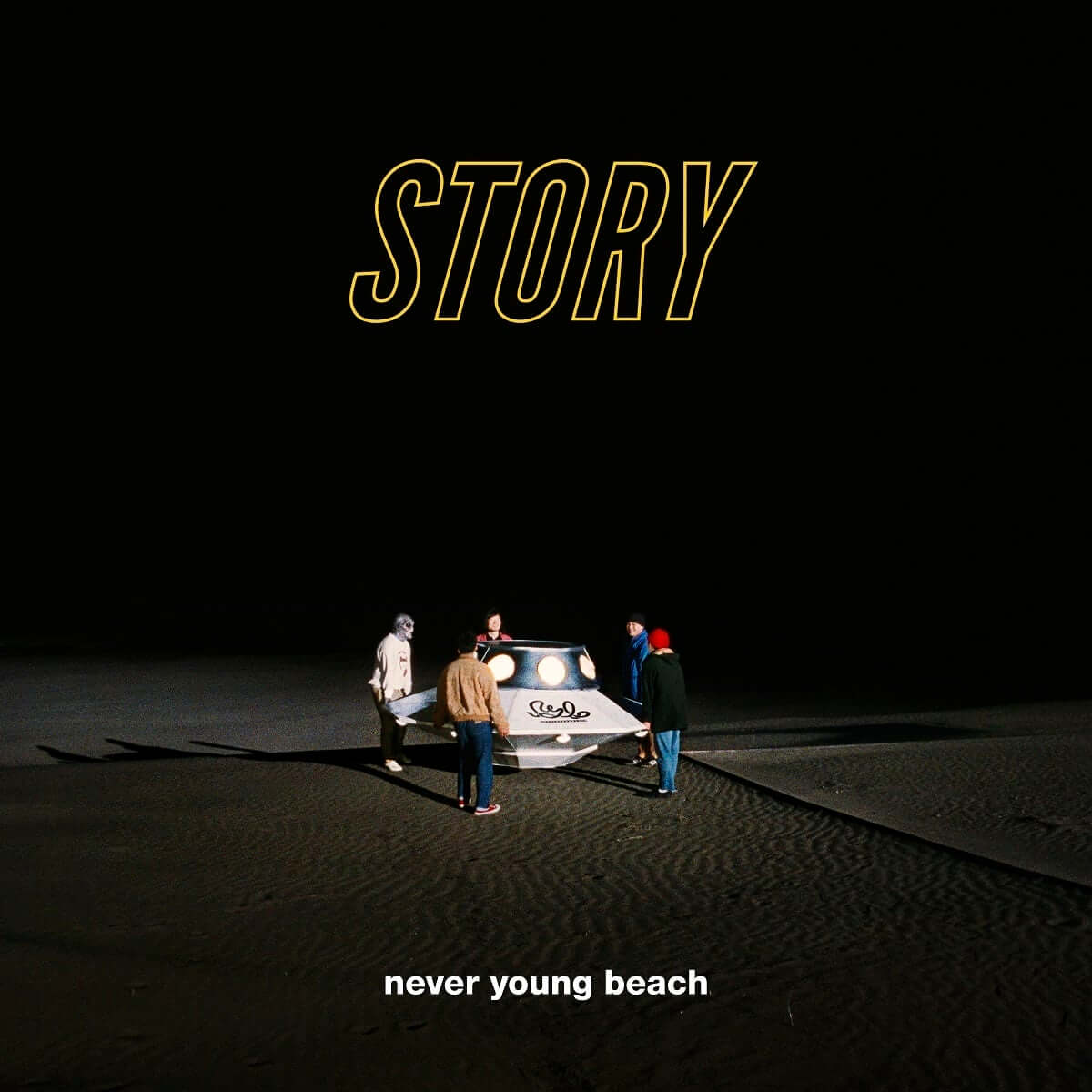 never young beach、ニューアルバムより新曲「STORY」が本日先行配信スタート music190410_neveryoungbeach_3-1200x1200