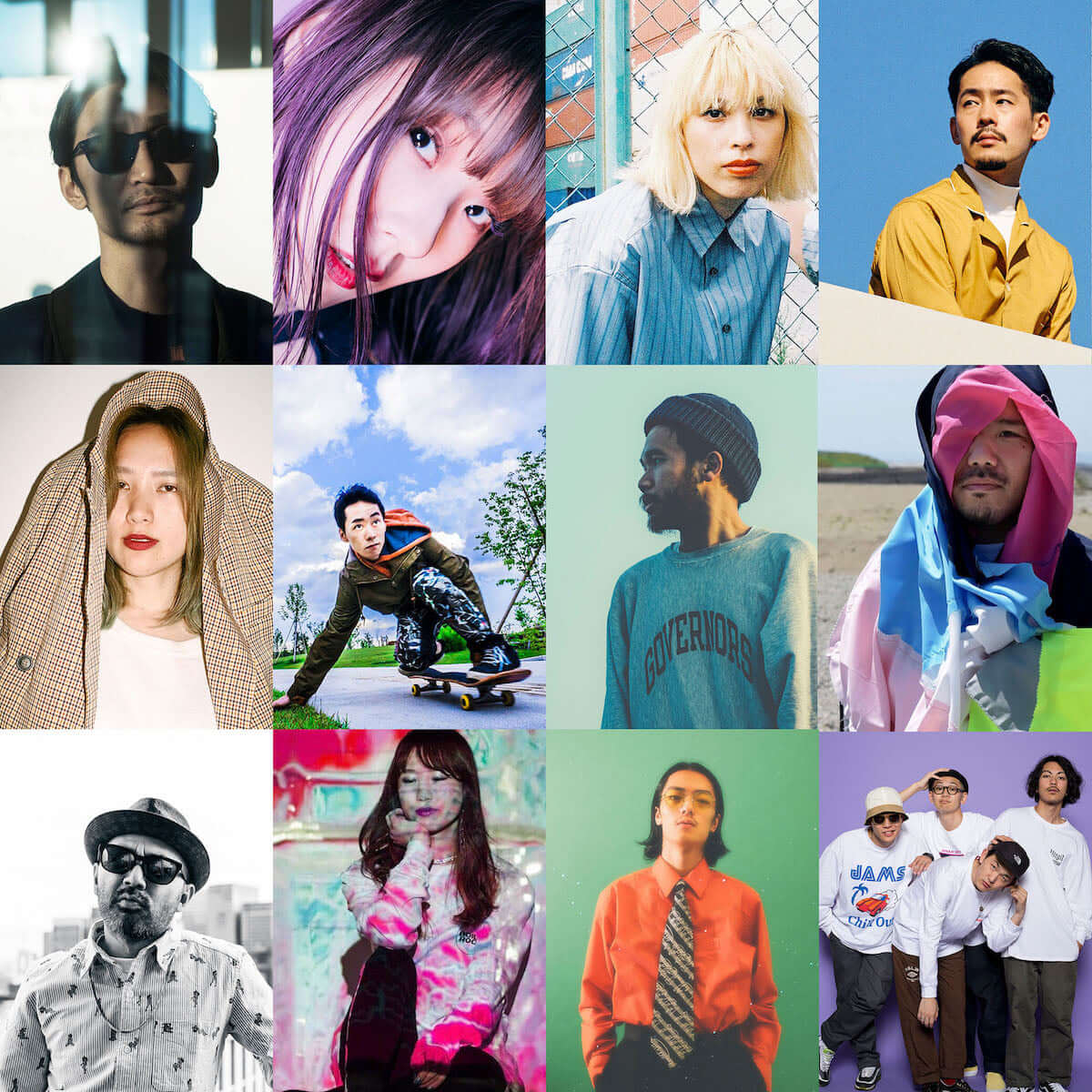mabanua、HUNGERとコラボしたMVが解禁|TOKYO HEALTH CLUBのTSUBAME、1stアルバム『THE PRESENT』本日リリース music190417_tsubame_2-1200x1200