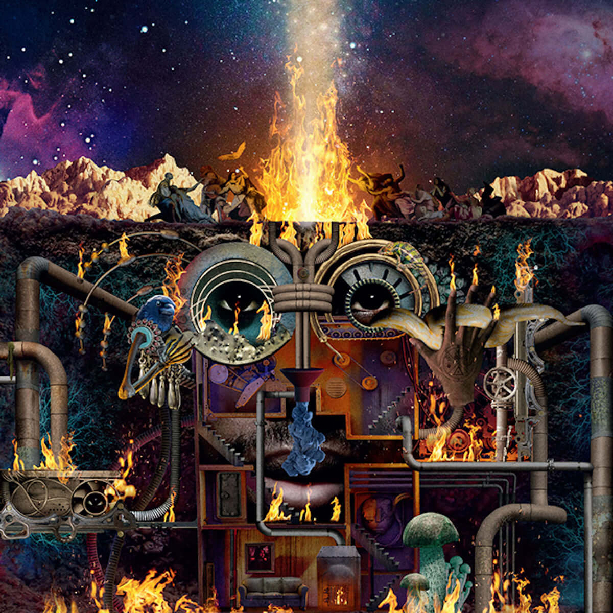 Flying Lotus、超大作『Flamagra』からDenzel Curryが客演として参加する「Black Balloons Reprise」MVが公開 music190417-flyinglotus-1-1200x1200