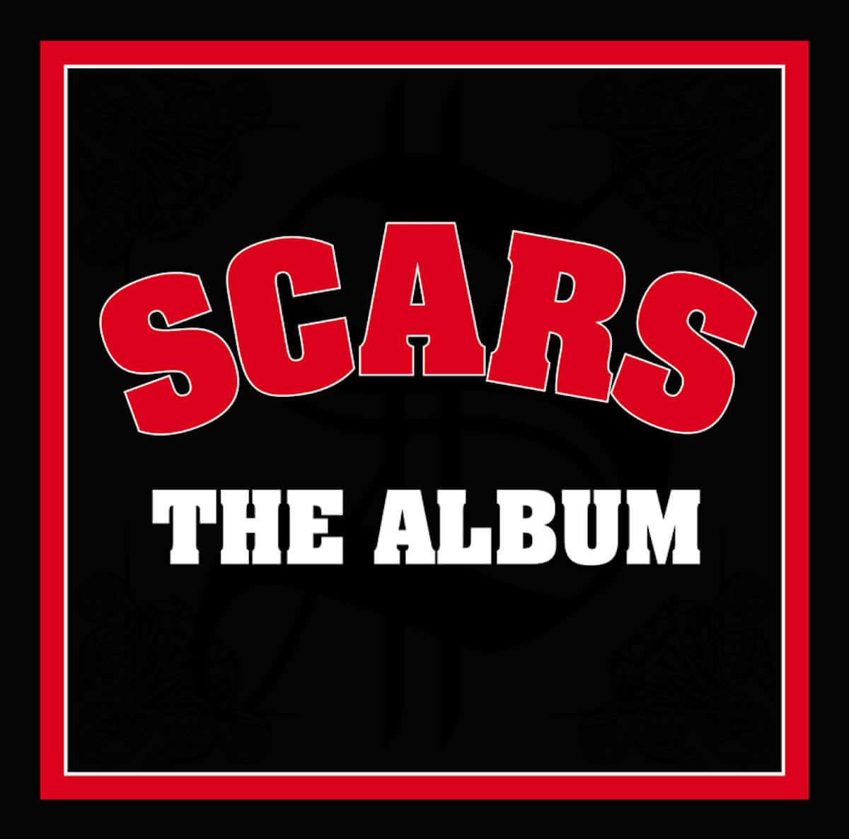 SCARS、入手困難だった『THE ALBUM』リイシュー盤をリリース music190418_scars_main-1200x1186