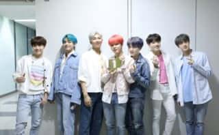 韓国アーティスト初、BTS最新アルバム『MAP OF THE SOUL : PERSONA』イギリスで1位獲得
