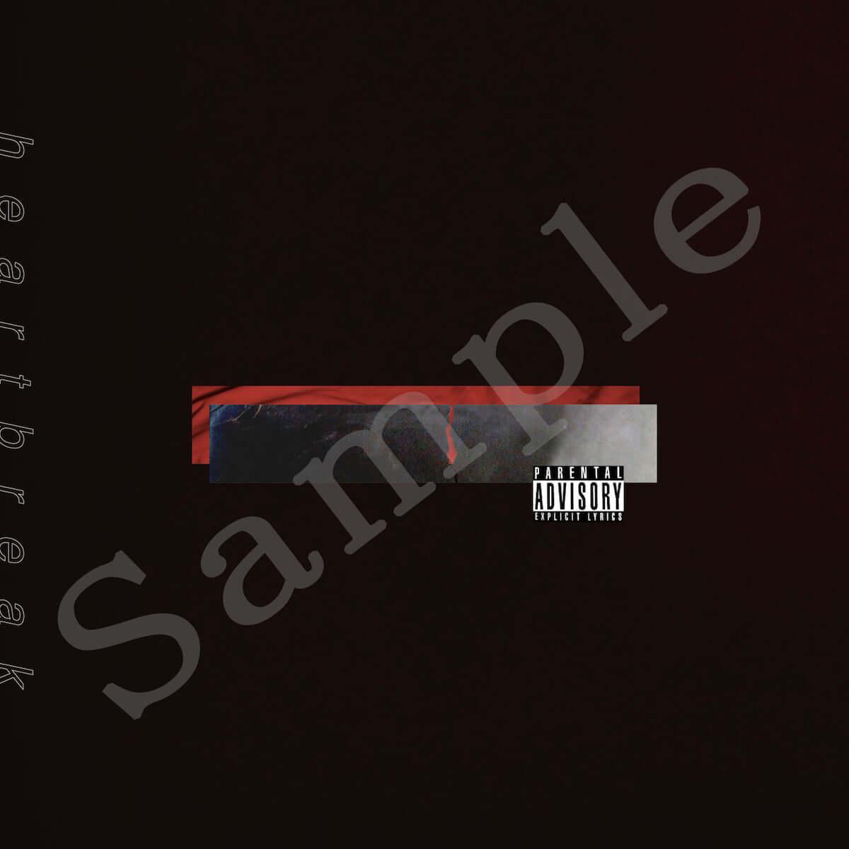 KEIJU、『heartbreak e.p.』に新曲を加えた完全生産限定盤を5月22日リリース|BAD HOPのYZERRらが新たに参加 music190422_keiju_1-1200x1200