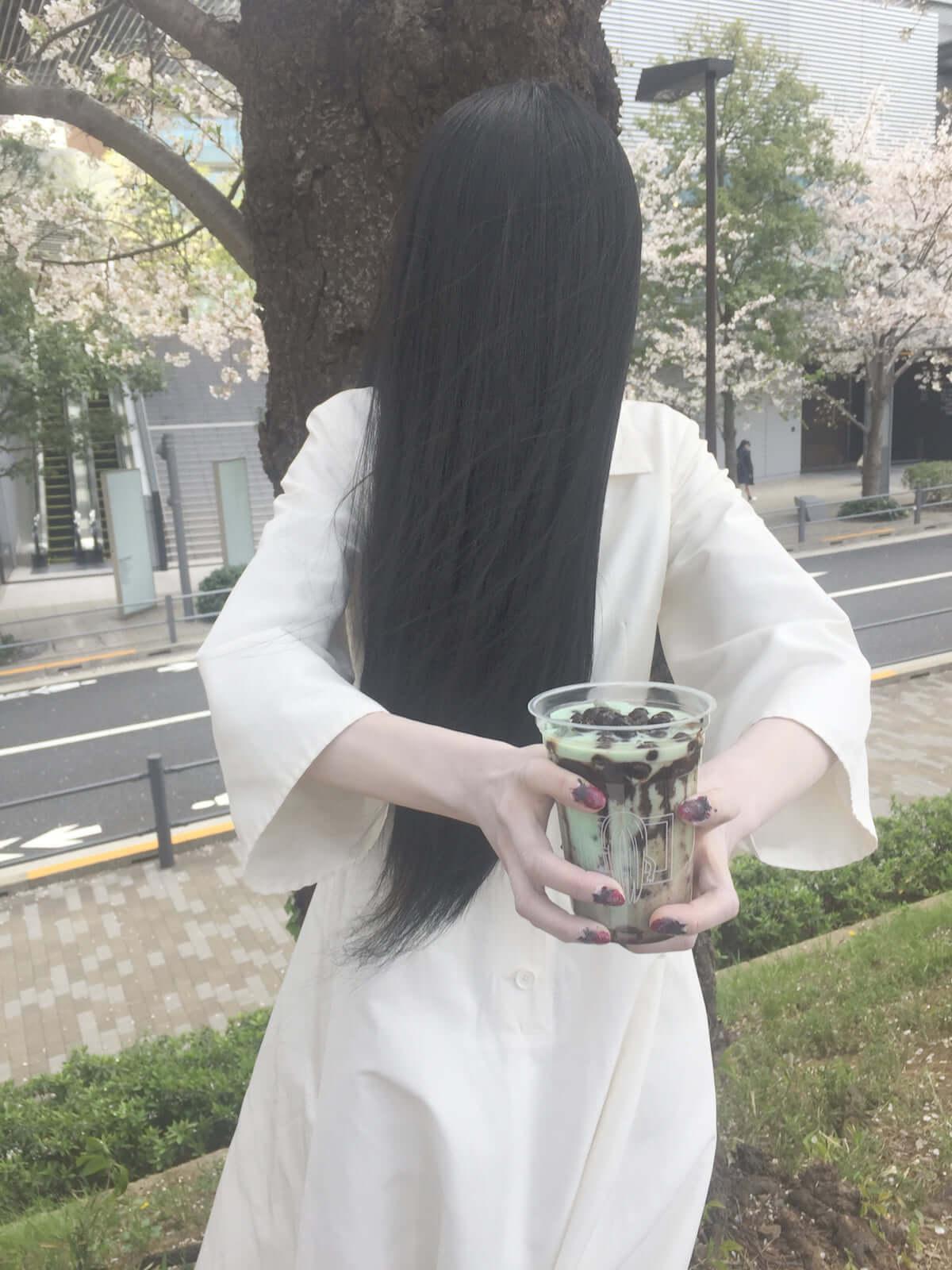 貞子がタピオカできっとく〜る!?池田エライザ主演『貞子』