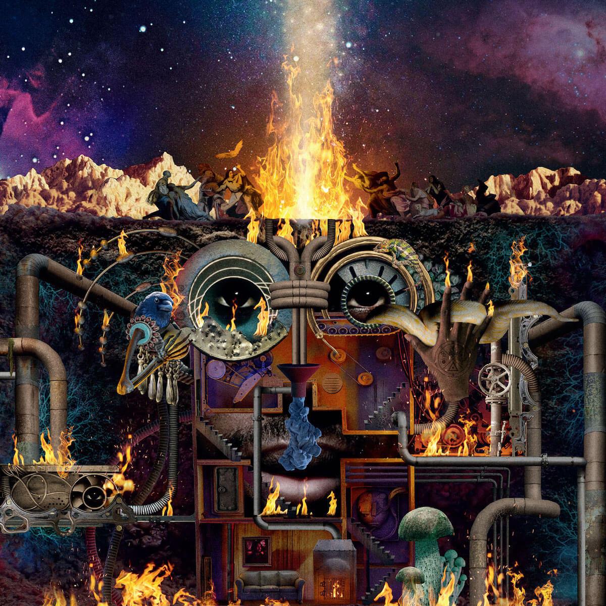 フライング・ロータス待望の最新作『FLAMAGRA』より、アンダーソン・パーク参加の新曲『MORE』が解禁! Flamagra_jaket