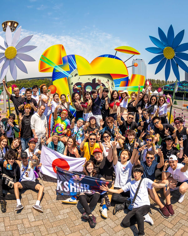 【オフィシャルレポート】Skrillex、Futureら登場の<EDC JAPAN 2019>初日。VERDYプロデュースのDJブースもお披露目 mu190512_edcjapan1