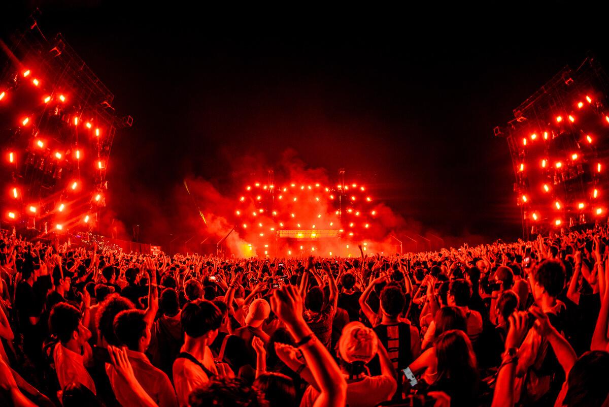 【オフィシャルレポート】Skrillex、Futureら登場の<EDC JAPAN 2019>初日。VERDYプロデュースのDJブースもお披露目 mu190512_edcjapan10