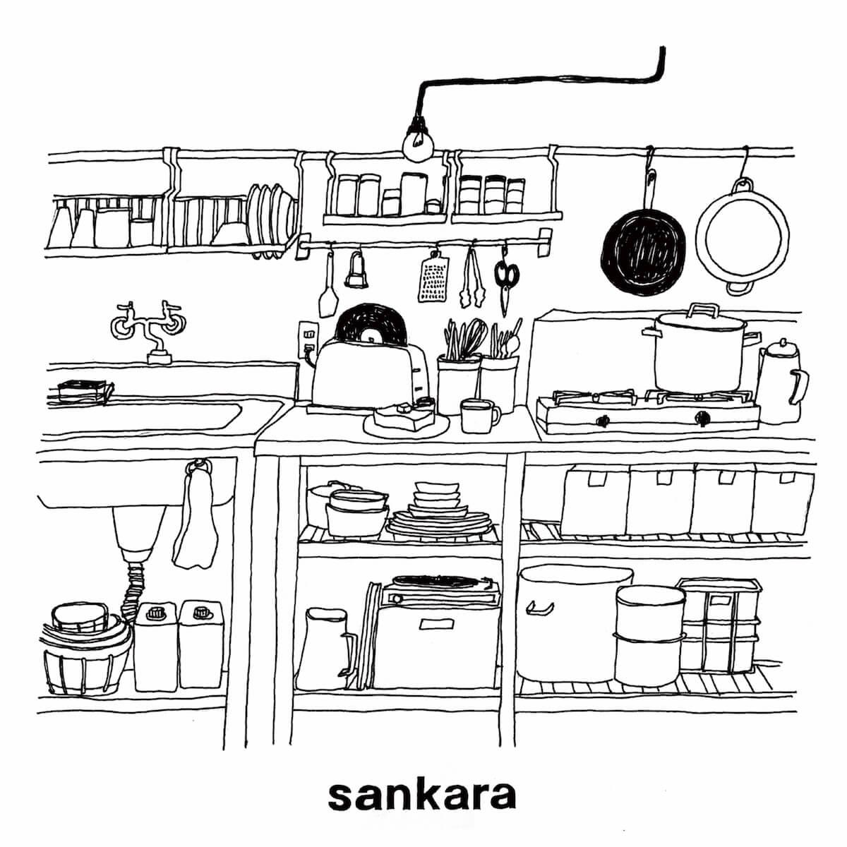 新レーベルRure Recordsより、Opus Innとsankaraの作品が同時リリース Wリリース・パーティが東京と大阪で決定 music190514_opusinn_sankara_3