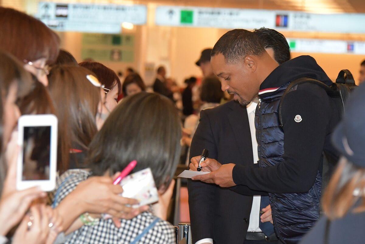 『アラジン』の魔人ジーニーが日本に!ウィル・スミス15回目の来日でファンと交流 film190515_aladdin_willsmith_1