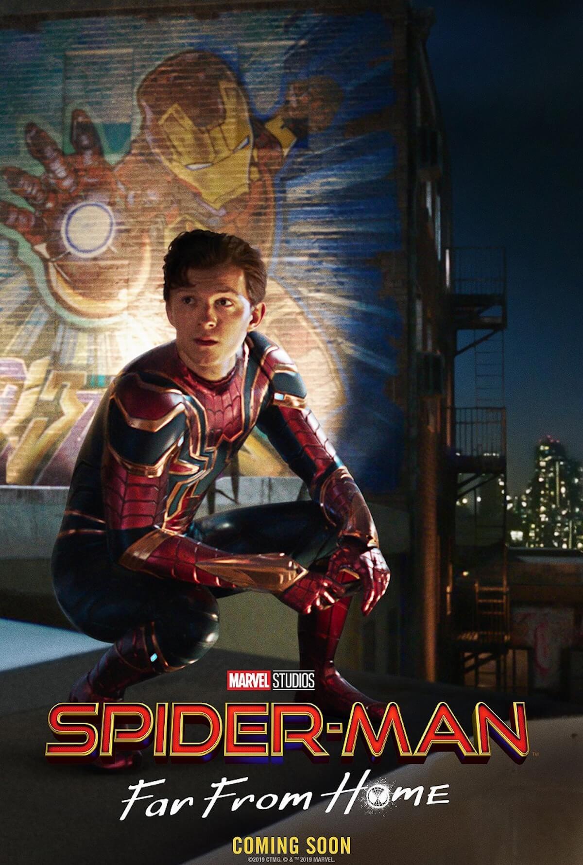 """スパイダーマンが""""鉄の意志""""を受け継ぐ『スパイダーマン:ファー・フロム・ホーム』新たな場面写真が公開 film190516_spiderman_main"""